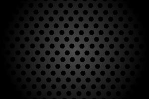 Black Hexagon Pattern HD