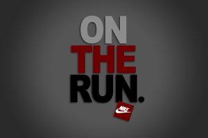 Nike: On the run logo HD