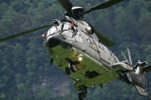 The Eurocopter AS332 Super Puma 6K