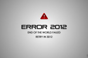 Error 2012: end of the world failed retry in 3012
