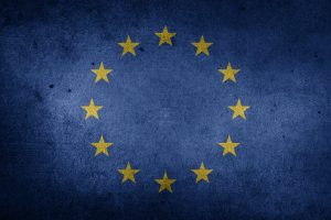 The Flag of the European Union (Grunge) HD
