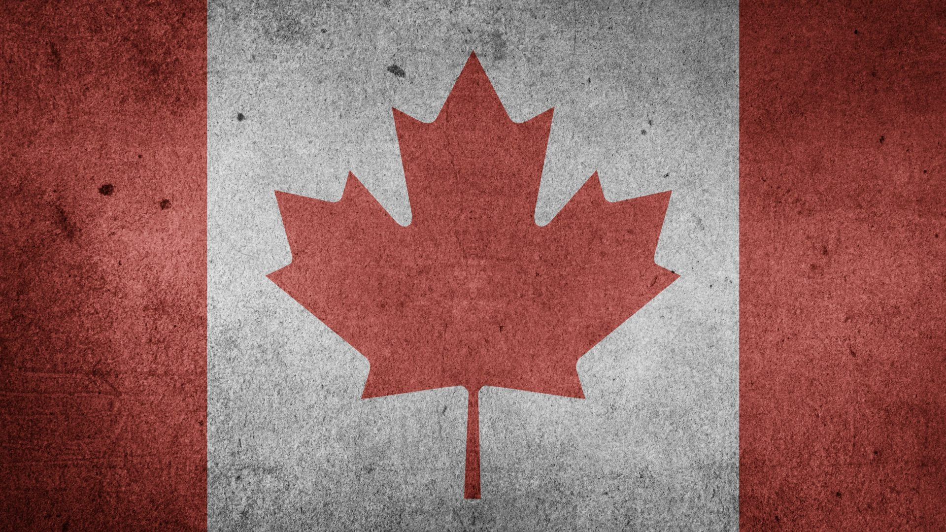 The Flag Of Canada Grunge Hd Wallpaper Wallpapers Gg