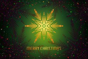 Merry Christmas (Green) 4K