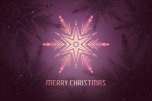 Merry Christmas (Pink) 4K
