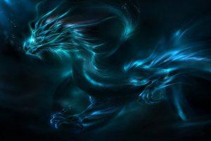 Mystical Blue Dragon HD
