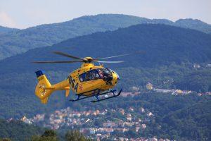 Rescue Helicopter (DSA – OK-DSB – Delta System Air Eurocopter EC135) 4K