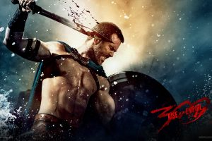 """300: Rise of an Empire """"Themistocles Fighting"""" HD"""
