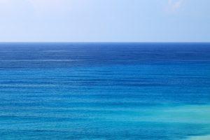 Aqua Blue Ocean 4K