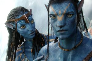 Avatar Neytiri and Jake Sully HD