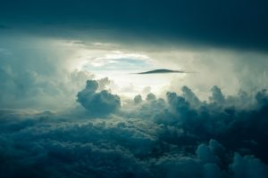 Dark clouds at Sunlight HD