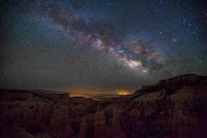 Milky Way Over Fairyland Canyon 5K