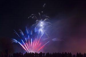 Fireworks (Blue & Red) 5K