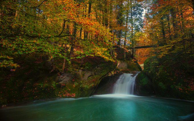 Small Waterfall Autumn