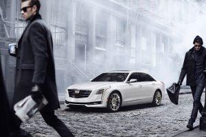 Cadillac CT6 2016 (White) HD