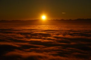 Sunrise Above The Clouds 8K
