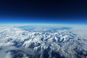 The Pyrenees Mountains Seen From Above HD