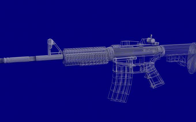 3D M4A4 4K