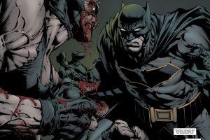 Batman vs Bane (DC Comics) 4K