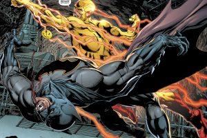 Batman vs Reverse Flash (DC Comics) 4K