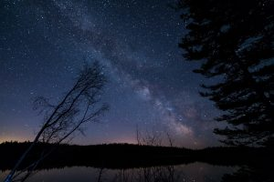 Milky Way In British Columbia 5K
