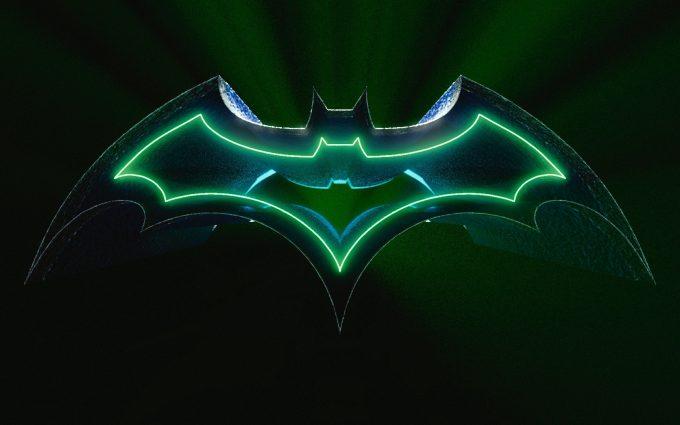 3D Batman Logo HD
