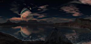 Alien Planet, Landscape HD