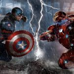 Captain America Civil War 2016 Iron Man vs Captain America 5K