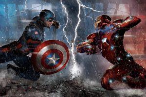 "Captain America: Civil War (2016) ""Iron Man vs Captain America"" 5K"