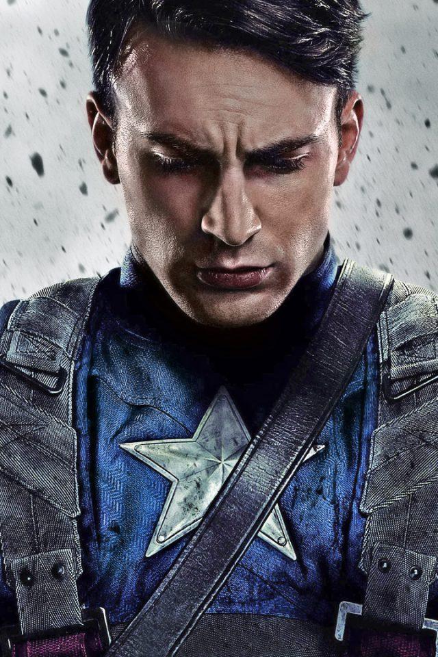 Captain America The First Avenger Steve Rogers HD Wallpaper