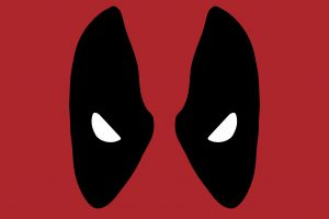 Deadpool Face 4K