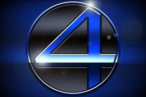 Fantastic Four (2005) Blue Logo HD