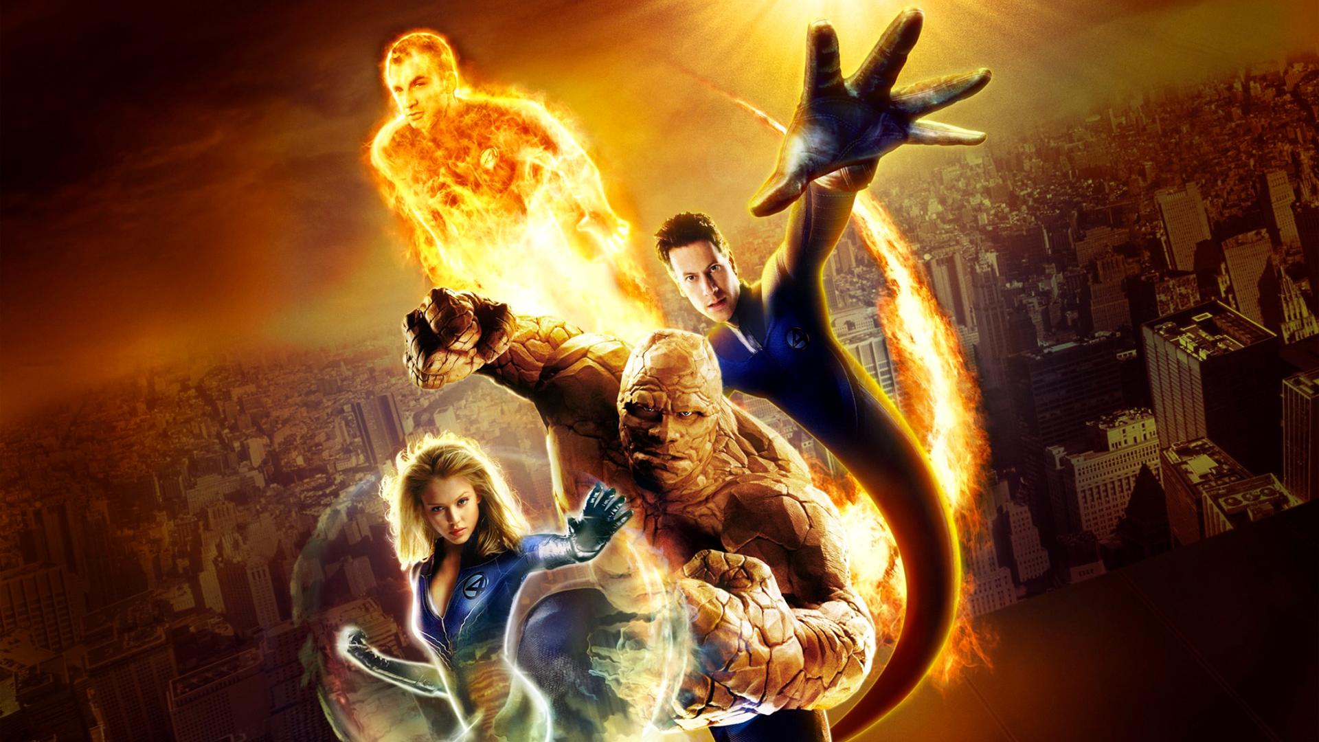 Fantastic Four (2005) HD Wallpaper HD Wallpaper