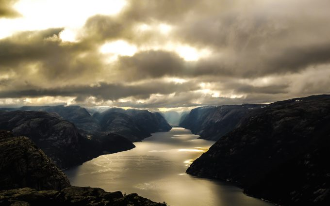 Lysefjord In Norway 5K