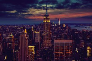 New York City (USA) At Nightfall HD