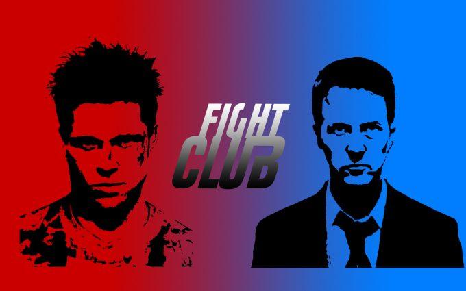 Fight Club 1999 The Narrator Tyler Durden HD