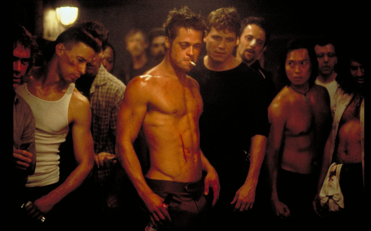 "fight club individuality By examining the binary opposition and the ideologies they represent in the palahniuk's ""fight club"" we will prove that and that of individuality."