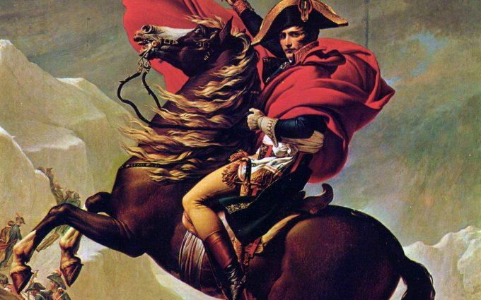 Napoleon Crossing the Alps Charlottenburg version HD