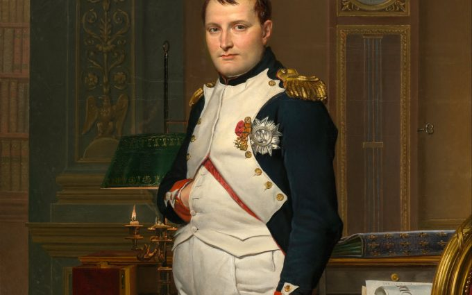 The Emperor Napoleon in His Study at the Tuileries HD