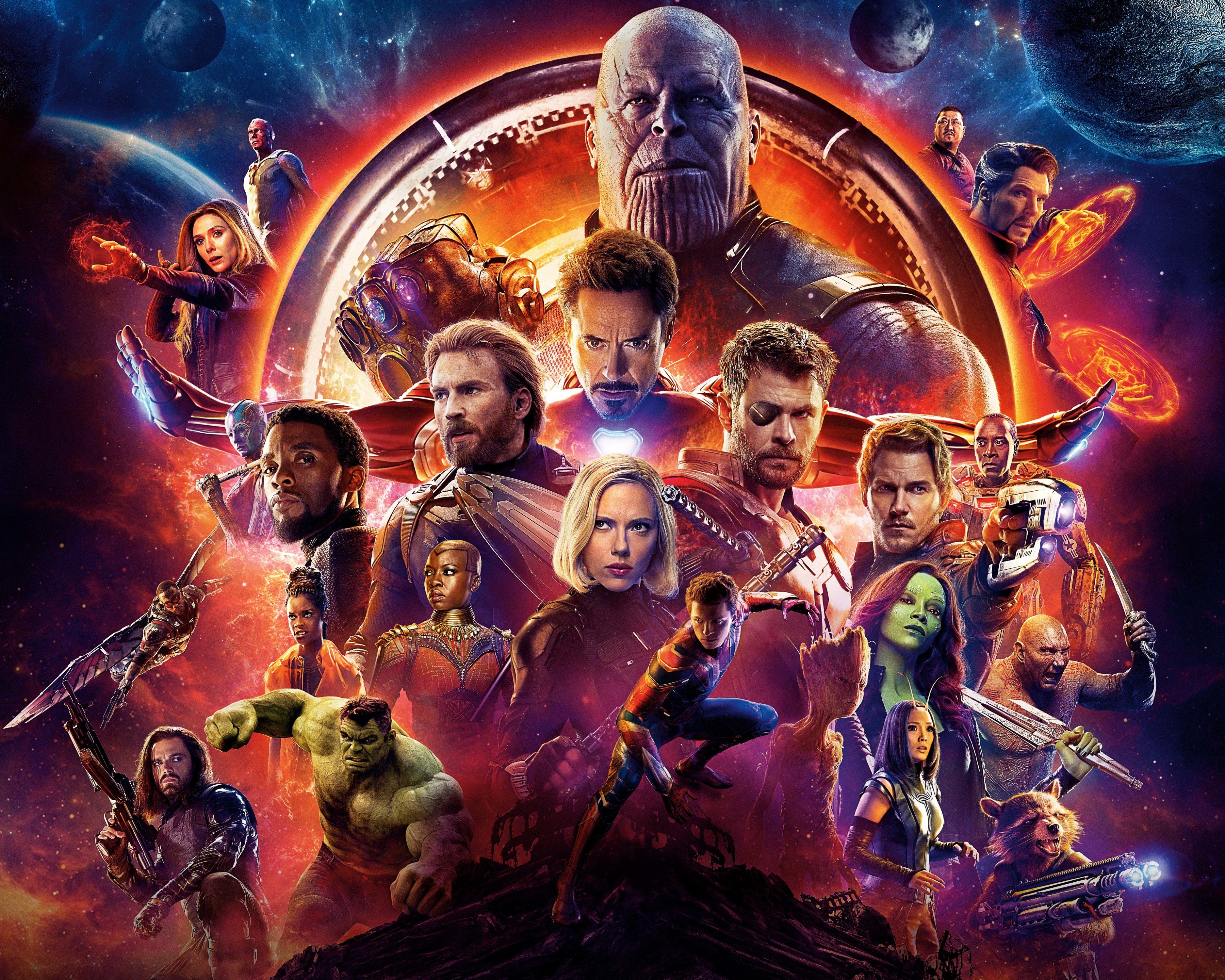 Avengers: Infinity War (2018) 8K UHD Wallpaper HD Wallpaper
