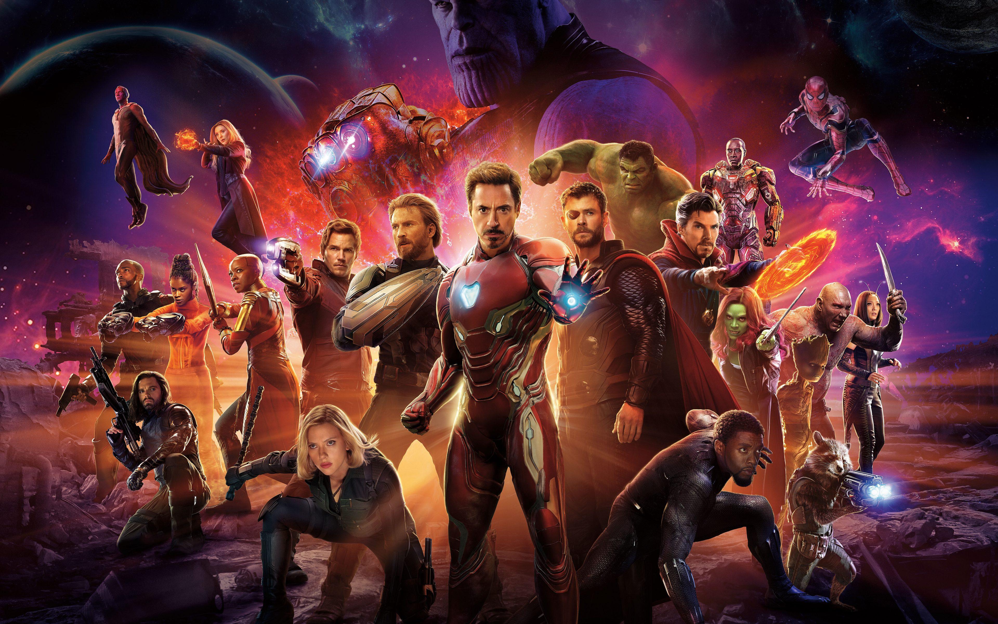 Avengers Infinity War 2018 Thanos 4k Uhd 3 2 3840x2560: Avengers: Infinity War (2018) 8K Ultra HD Wallpaper