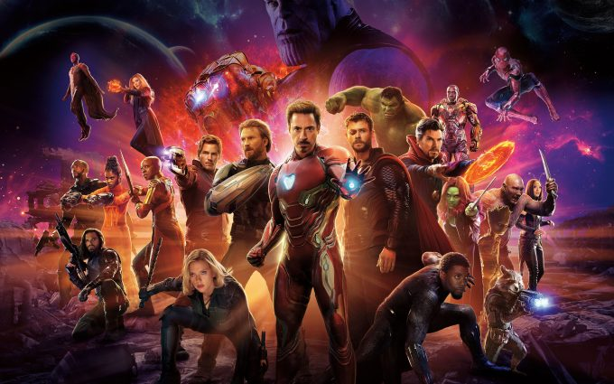 Avengers Infinity War 2018 8K Ultra HD