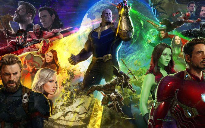Avengers Infinity War 2018 8K UltraHD