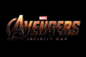 Avengers: Infinity War (2018) Logo 5K