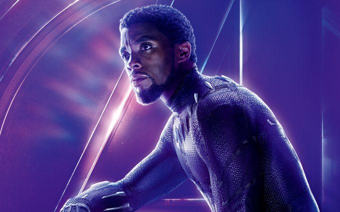 Avengers Infinity War 2018 Black Panther 8K UltraHD