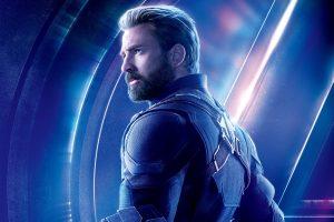 Avengers: Infinity War (2018) Captain America 8K Ultra HD
