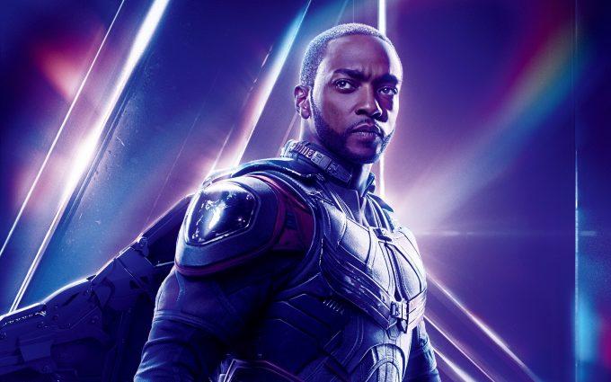 Avengers Infinity War 2018 Falcon 8K Ultra HD
