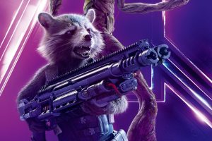 Avengers: Infinity War (2018) Rocket Raccoon 8K Ultra HD