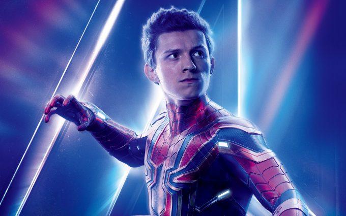 Avengers Infinity War 2018 Spider Man 8K Ultra HD