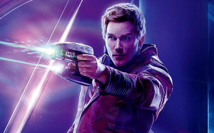 Avengers Infinity War 2018 Star Lord 8K Ultra HD