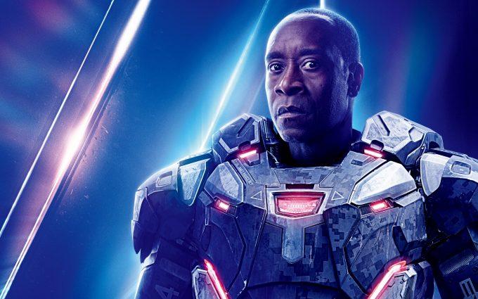 Avengers Infinity War 2018 War Machine 8K Ultra HD